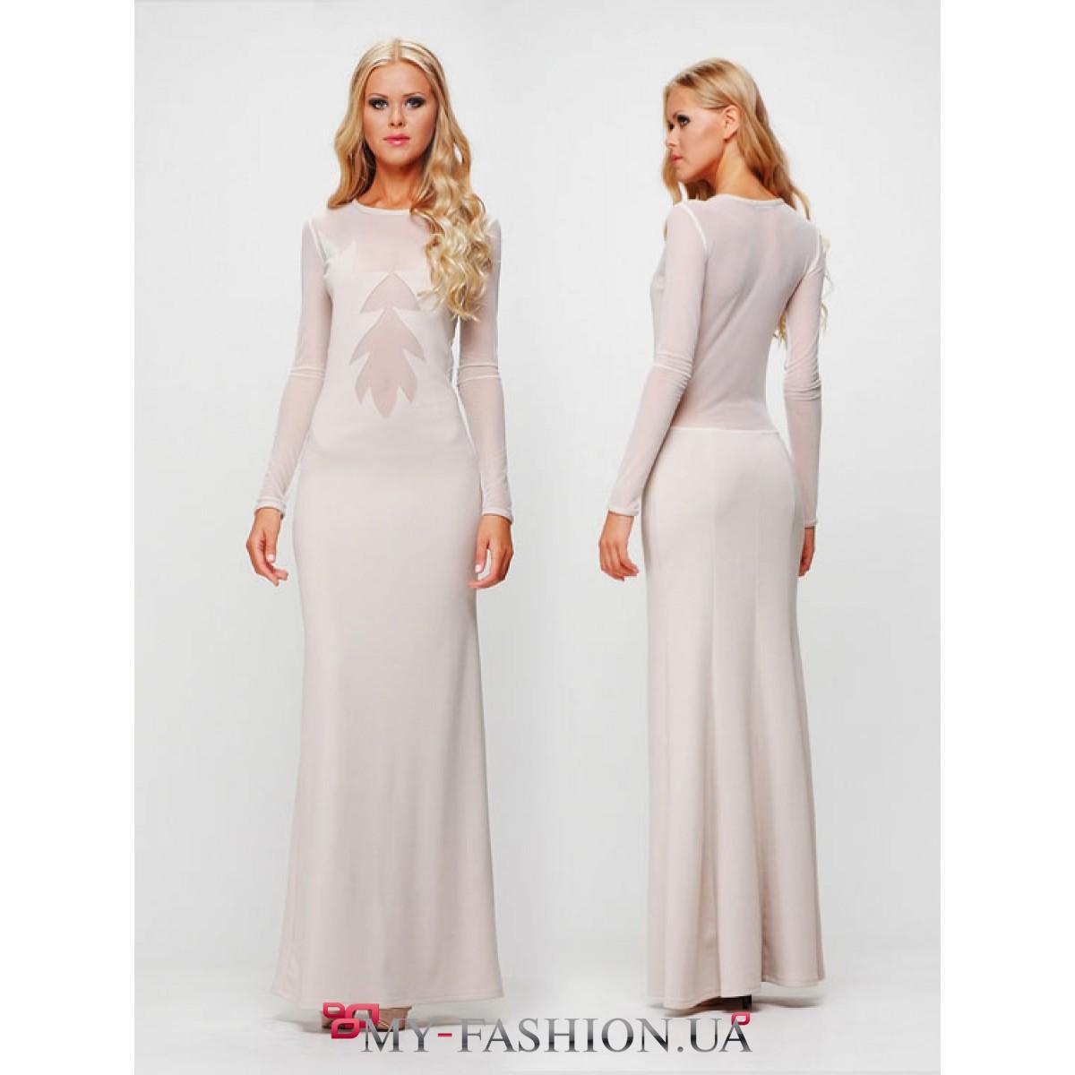 bd9c80c413a47d9 Белое вечернее платье максимальной длинны · Белое вечернее платье  максимальной длинны ...