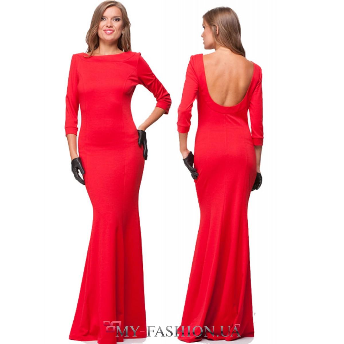 Вечерние красные платья заказать