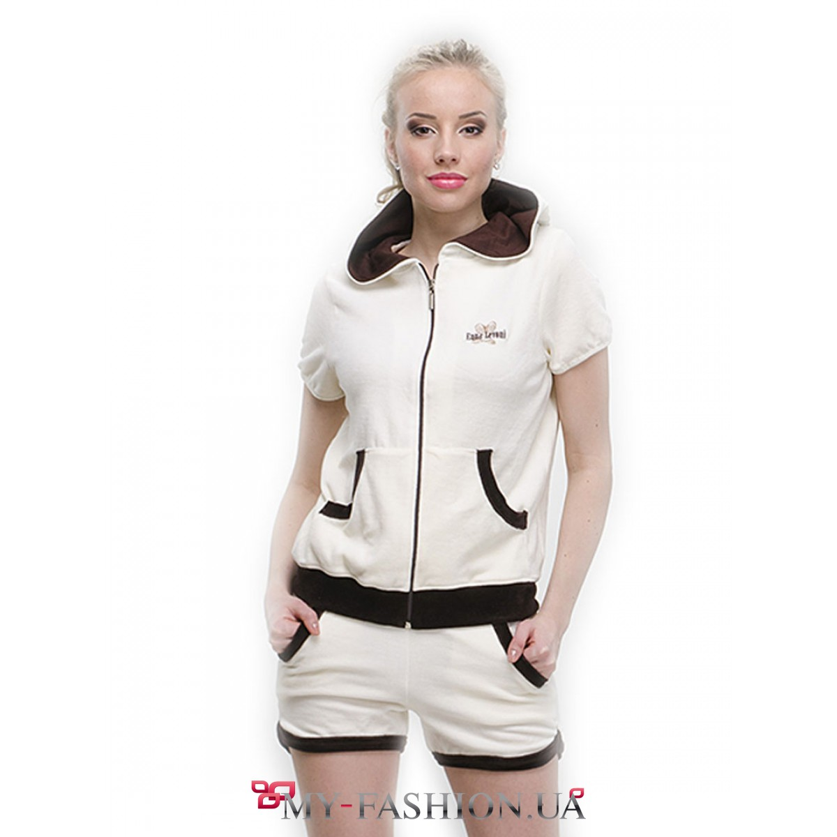Женские спортивные костюмы с шортами