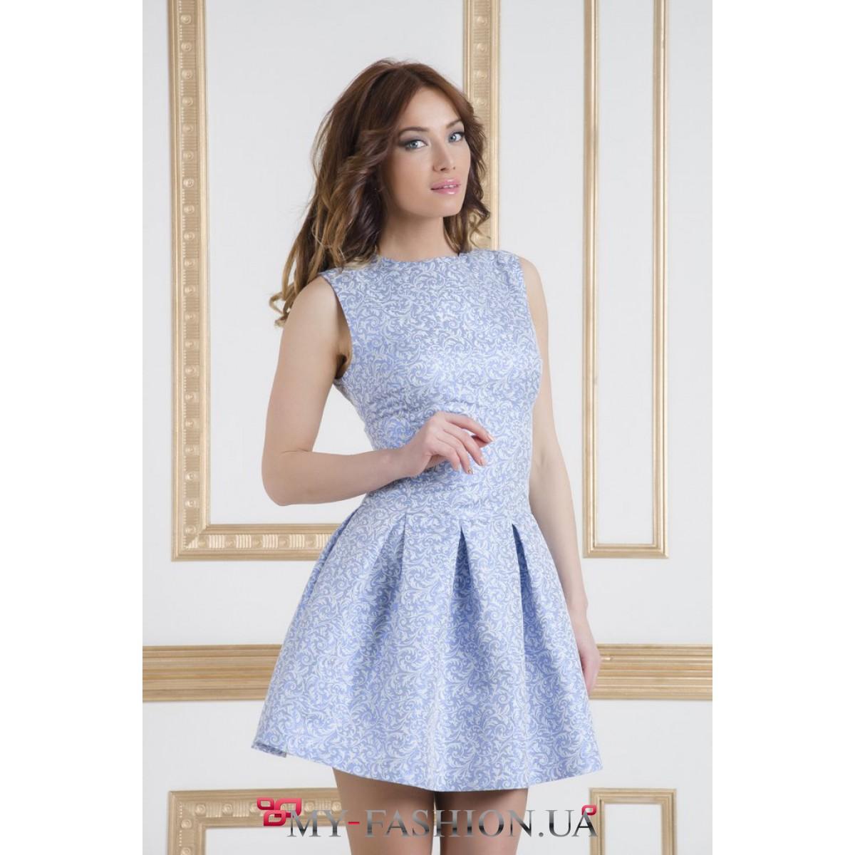 Купит летнее пышное короткое платье