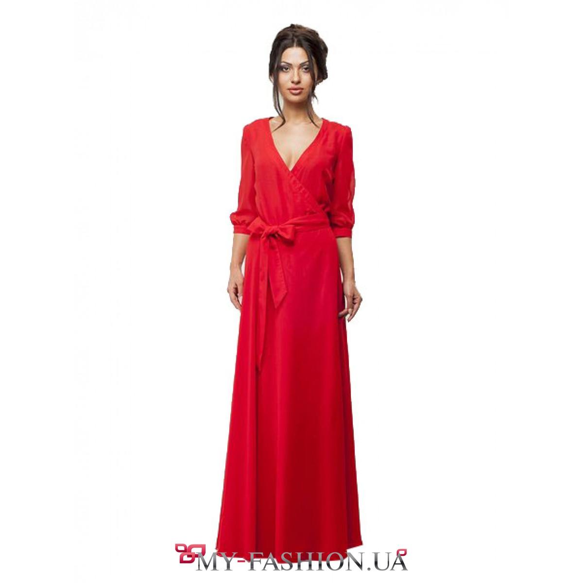 Шикарное Платье В Пол Купить