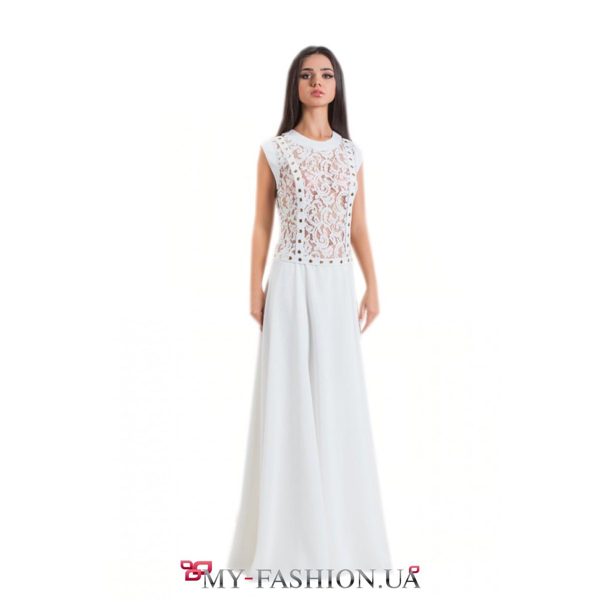 Купить Белое Вечернее Платье