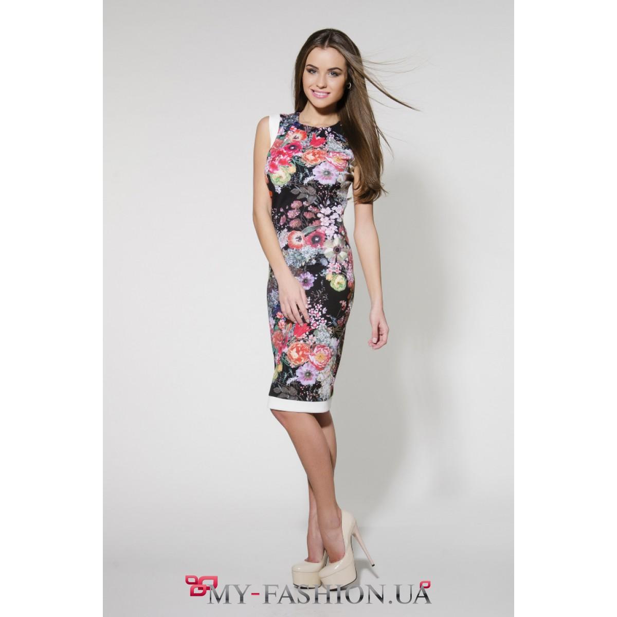Цветочное платье доставка