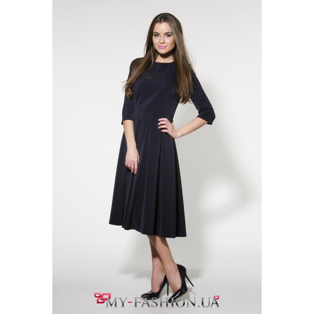 Фото платья синего цвета