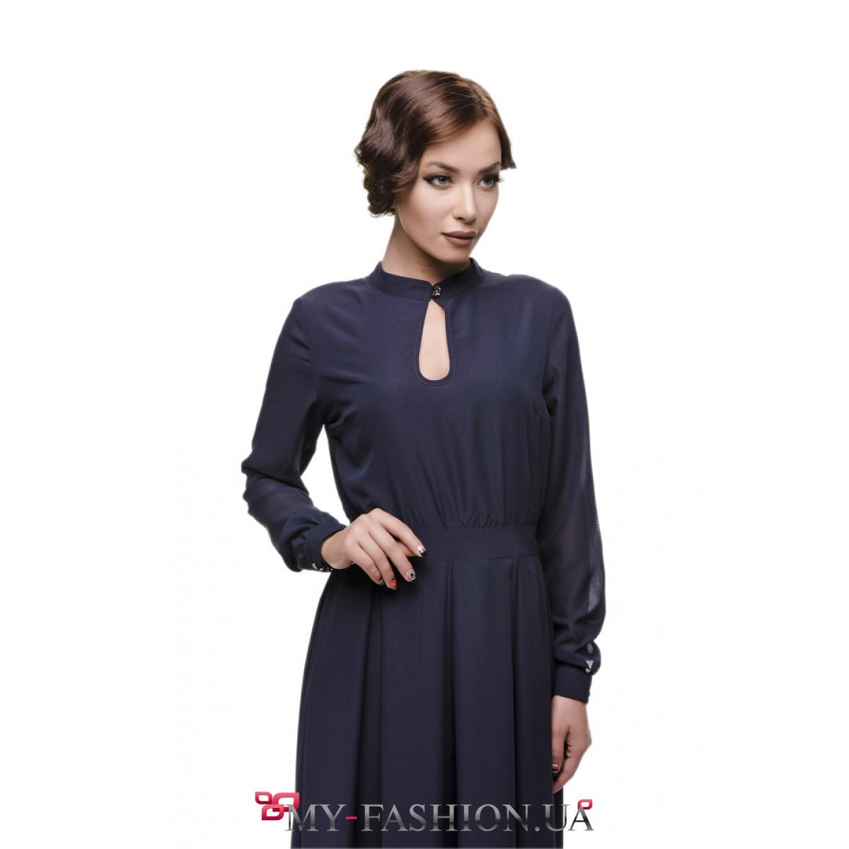 Длинное Платье С Вырезом Купить