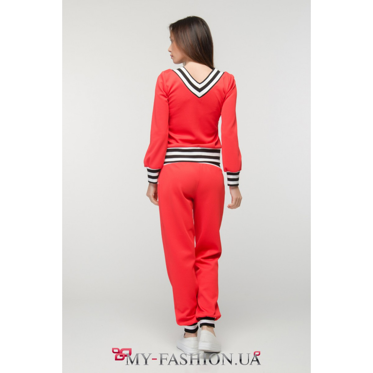 Красный спортивный костюм женский с доставкой