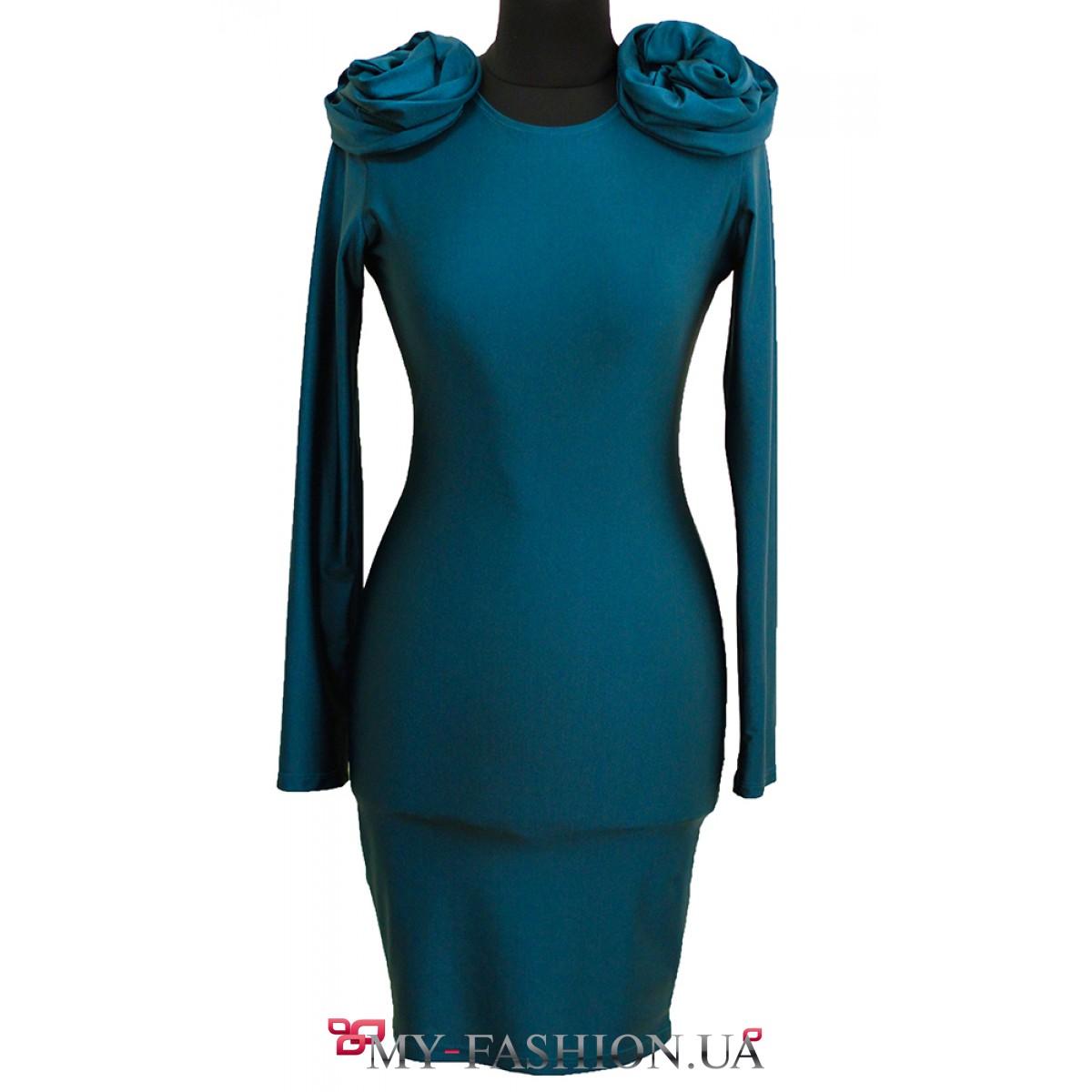 Изумрудное Платье Купить
