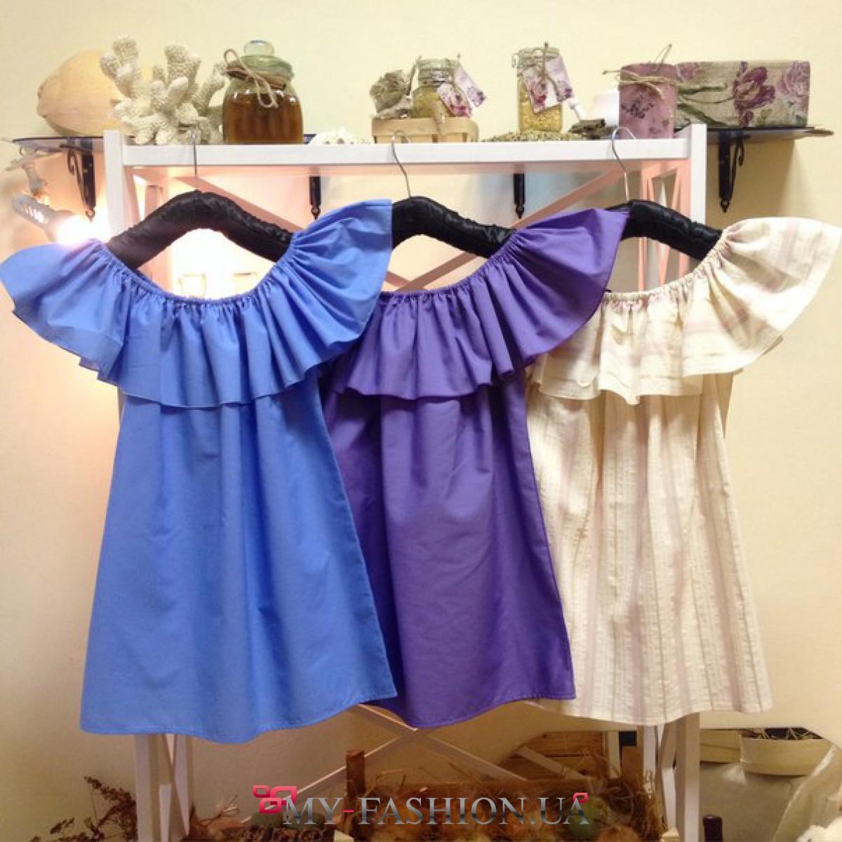 Летние блузки из хлопка с доставкой