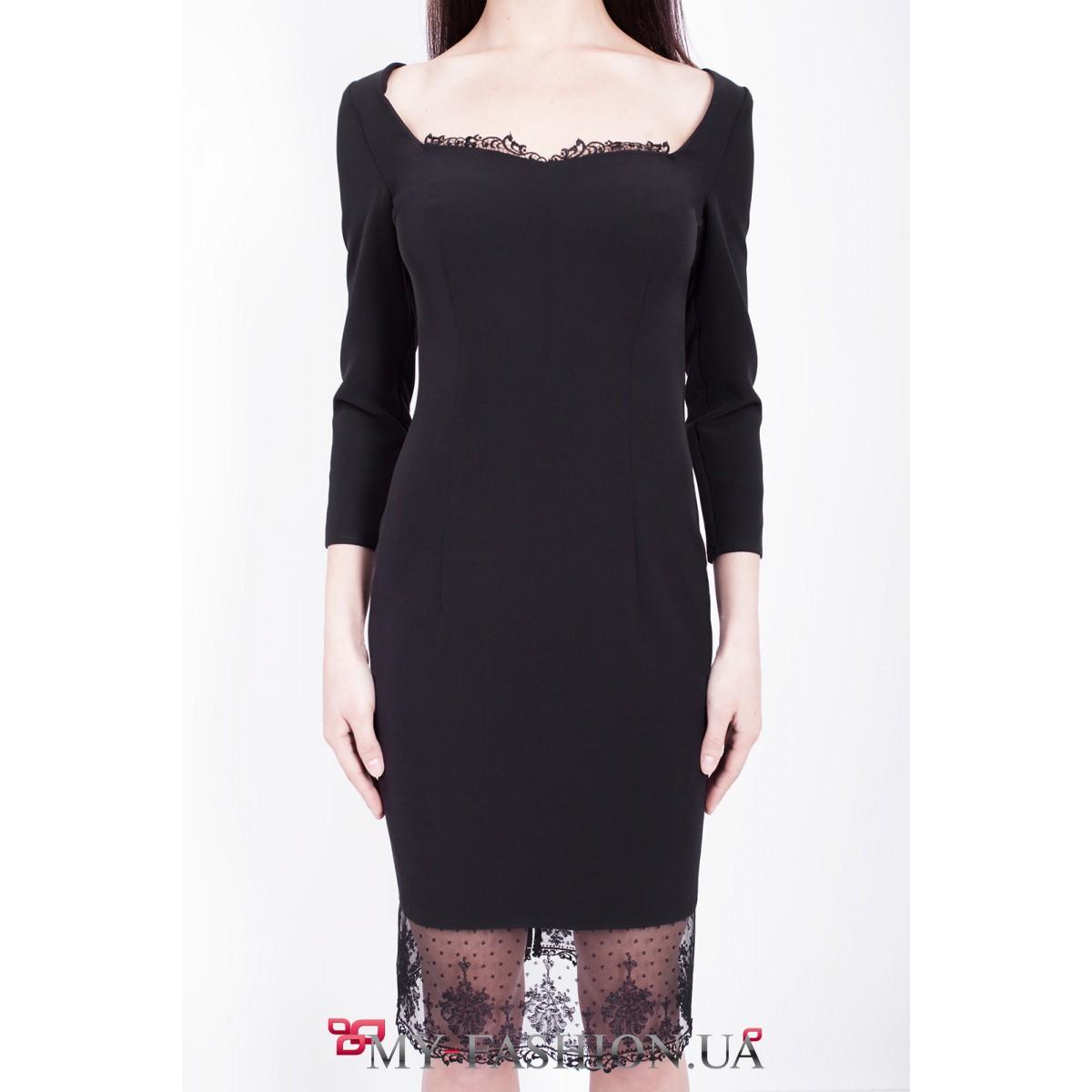 Платье С Глубоким Декольте Купить