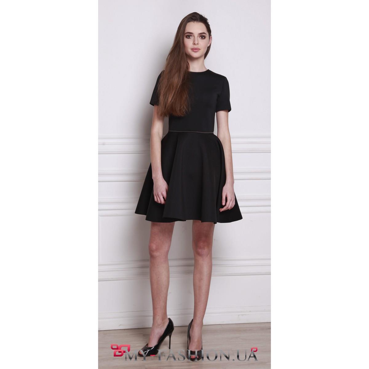 Платье с пышной юбкой (шитье выкройка)
