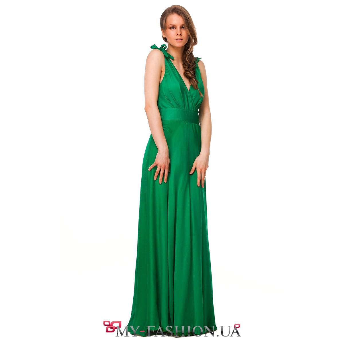 Купить блузку изумрудного цвета в интернет магазине