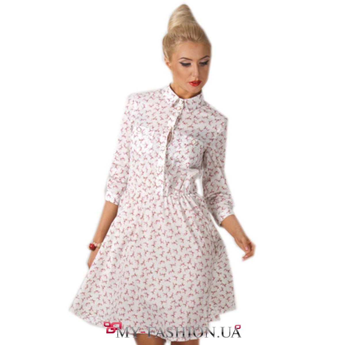 Купить лёгкое платье на лето