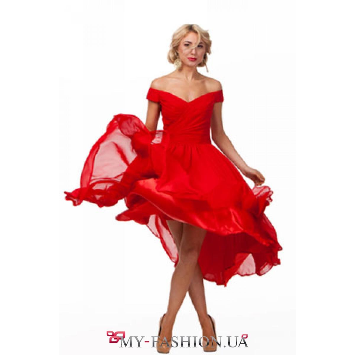 ea99cc2357c Красное вечернее платье Musthave купить в Киеве