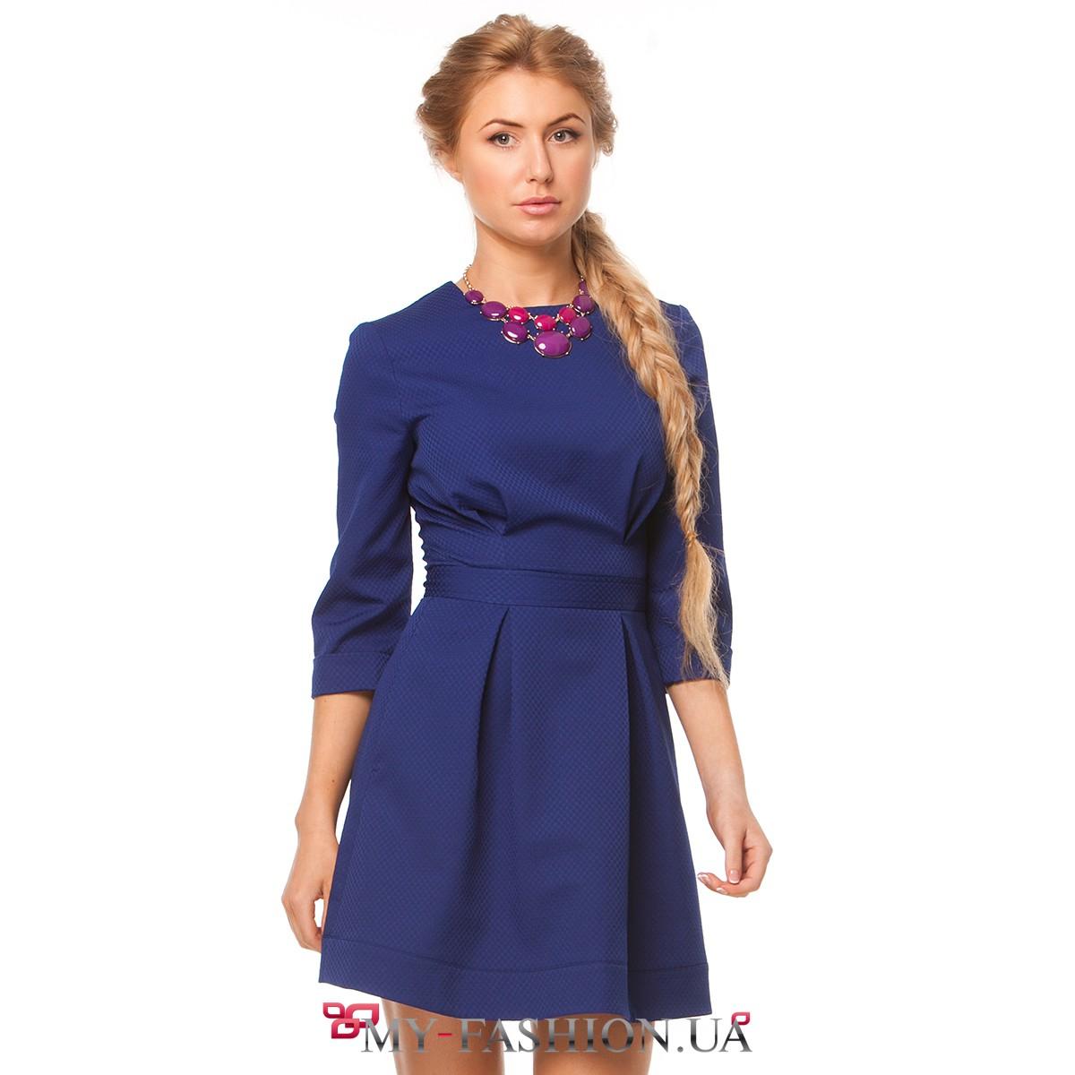 Платья со складочками
