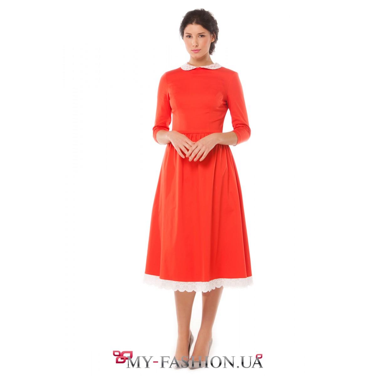Платье приталенное доставка