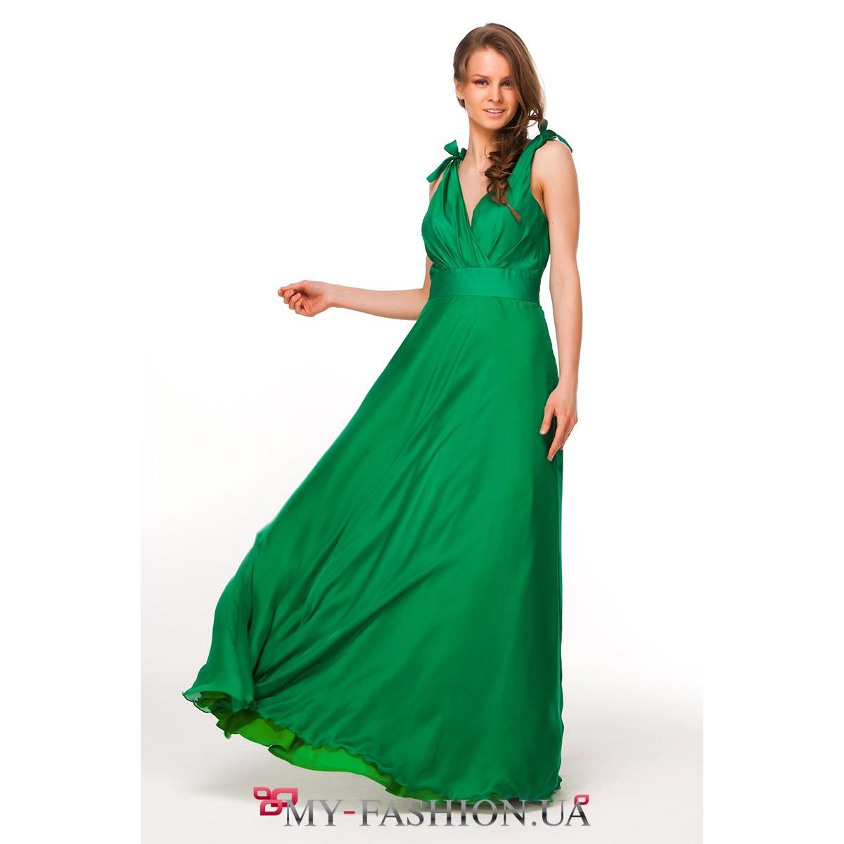 Платья Изумрудного Цвета Купить
