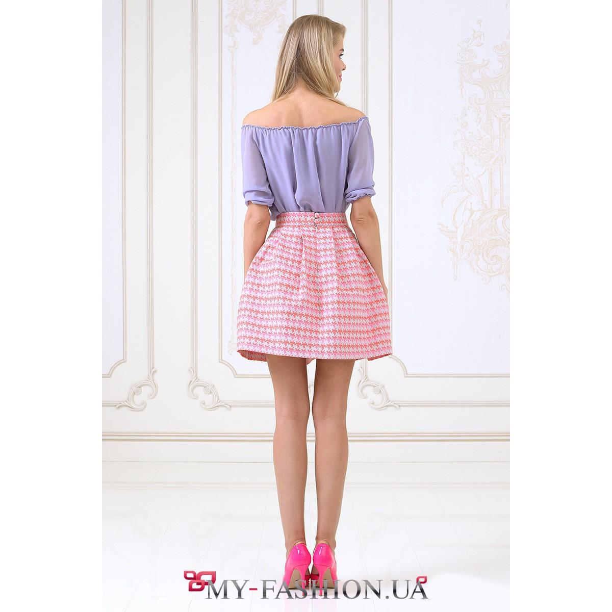 Короткие пышные юбки доставка