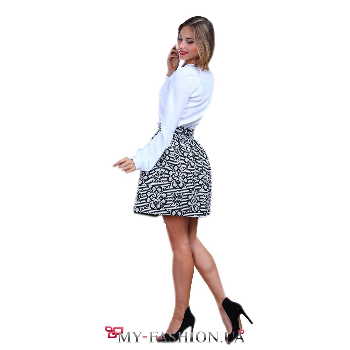 Юбка блузка и пиджак с доставкой