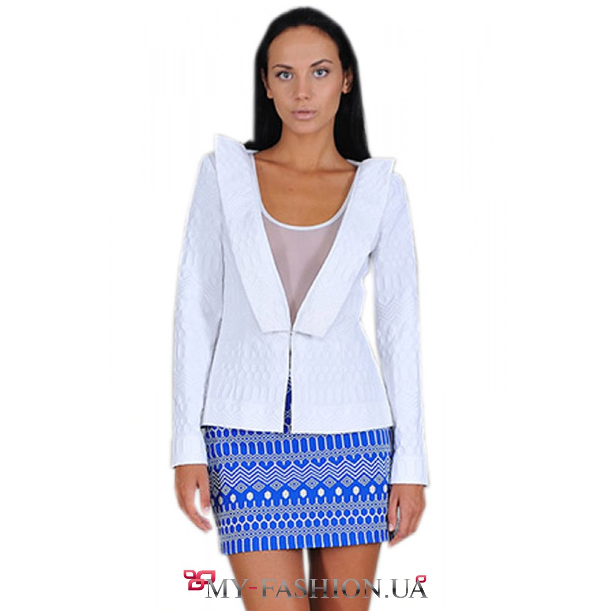 Купить белый пиджак