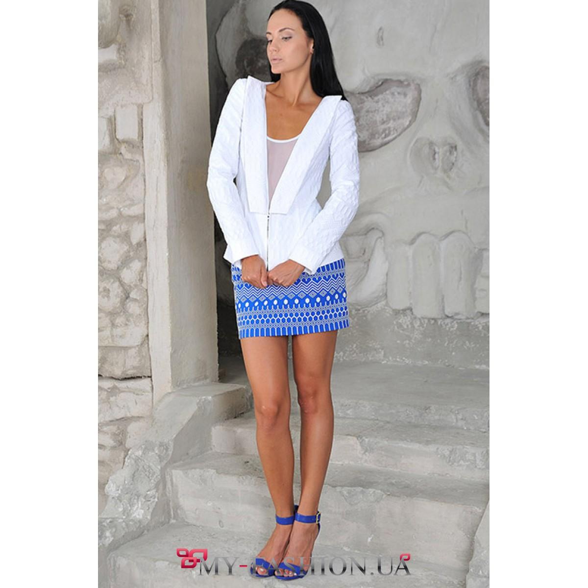 Белый костюм классический женский с доставкой