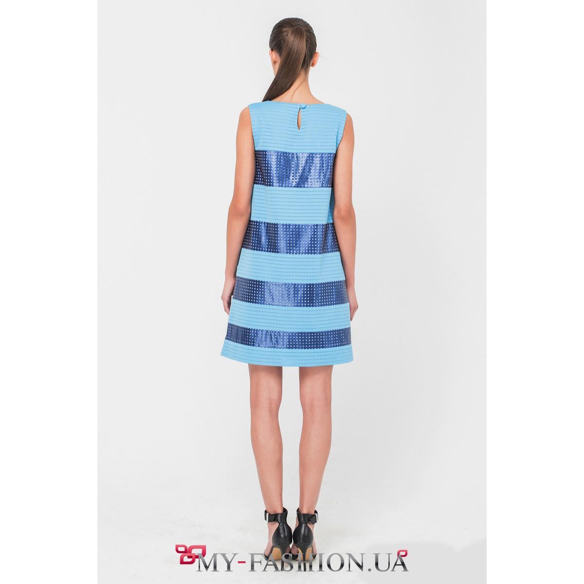 Комбинированные платья доставка