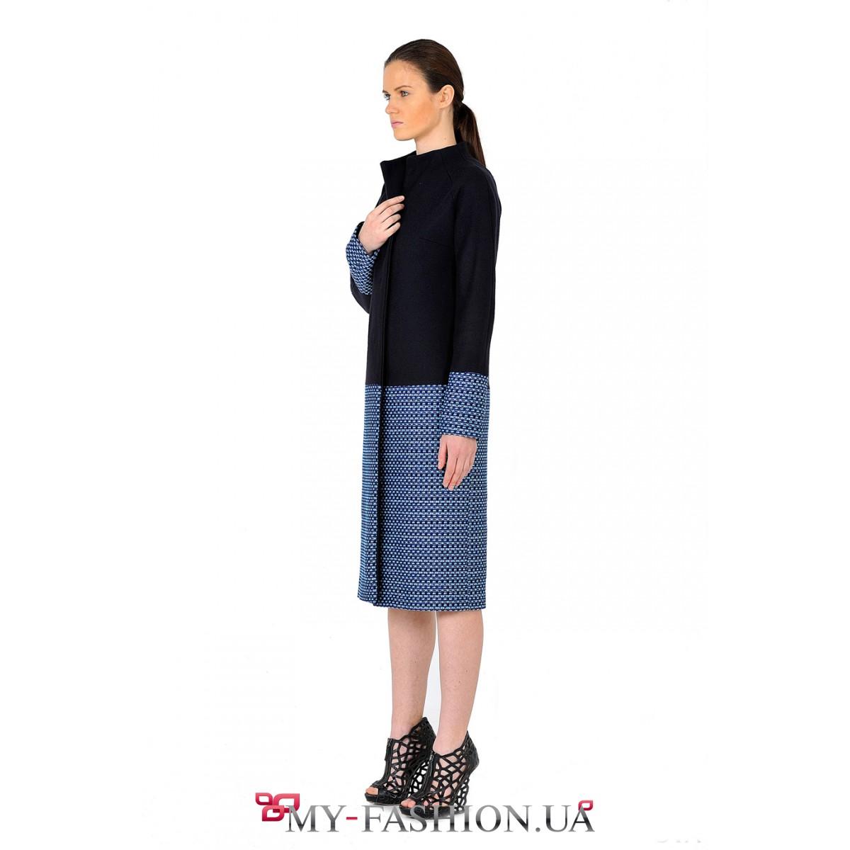 Длинное пальто женское