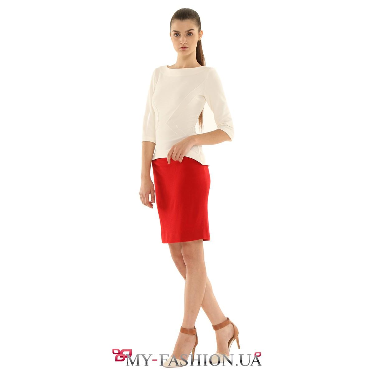 Красные юбки купить