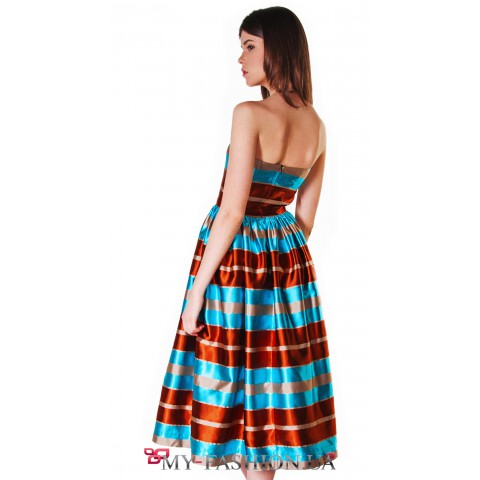 Лёгкое платье-бандо в стиле new look
