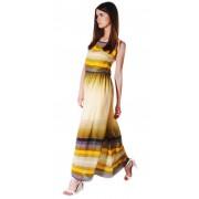 Привлекательное платье-сарафан на тонких бретельках