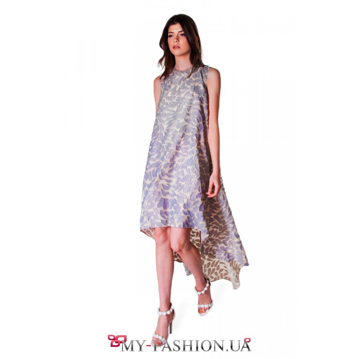 2d38321ee6d Длинное вечернее платье А-образного силуэта купить в интернет ...