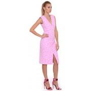 Элегантное платье-футляр  V-образный вырез