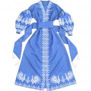 Волшебное платье с аутентичной украинской вышивкой