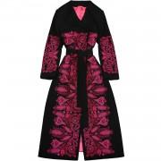 Оригинальное пальто с вышивкой