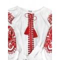 Нарядное сказочное платье-вышиванка