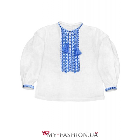 Вышивка в традиционном колорите -  дополнение к гардеробу ребенка
