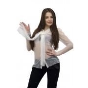 Блузка из полупрозрачной сетки