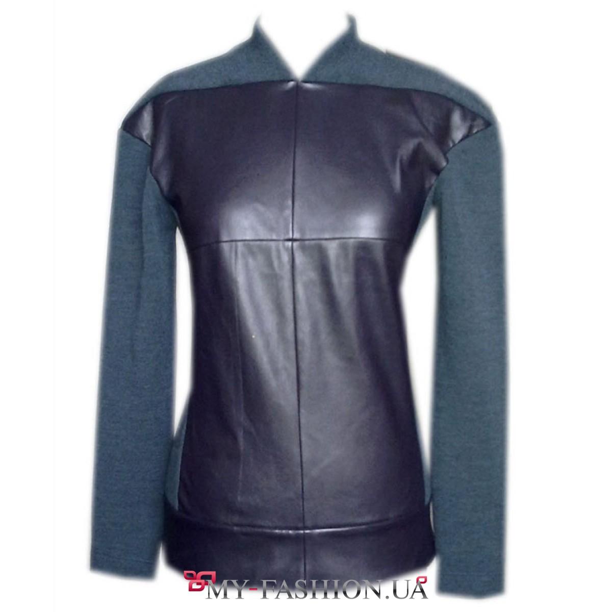 Купить блузку теплую