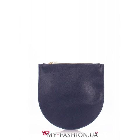 Синий клатч-косметичка от украинского производителя