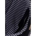 Cумка-клатч чёрного цвета из натуральной кожи