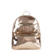 Стильный рюкзак золотого цвета