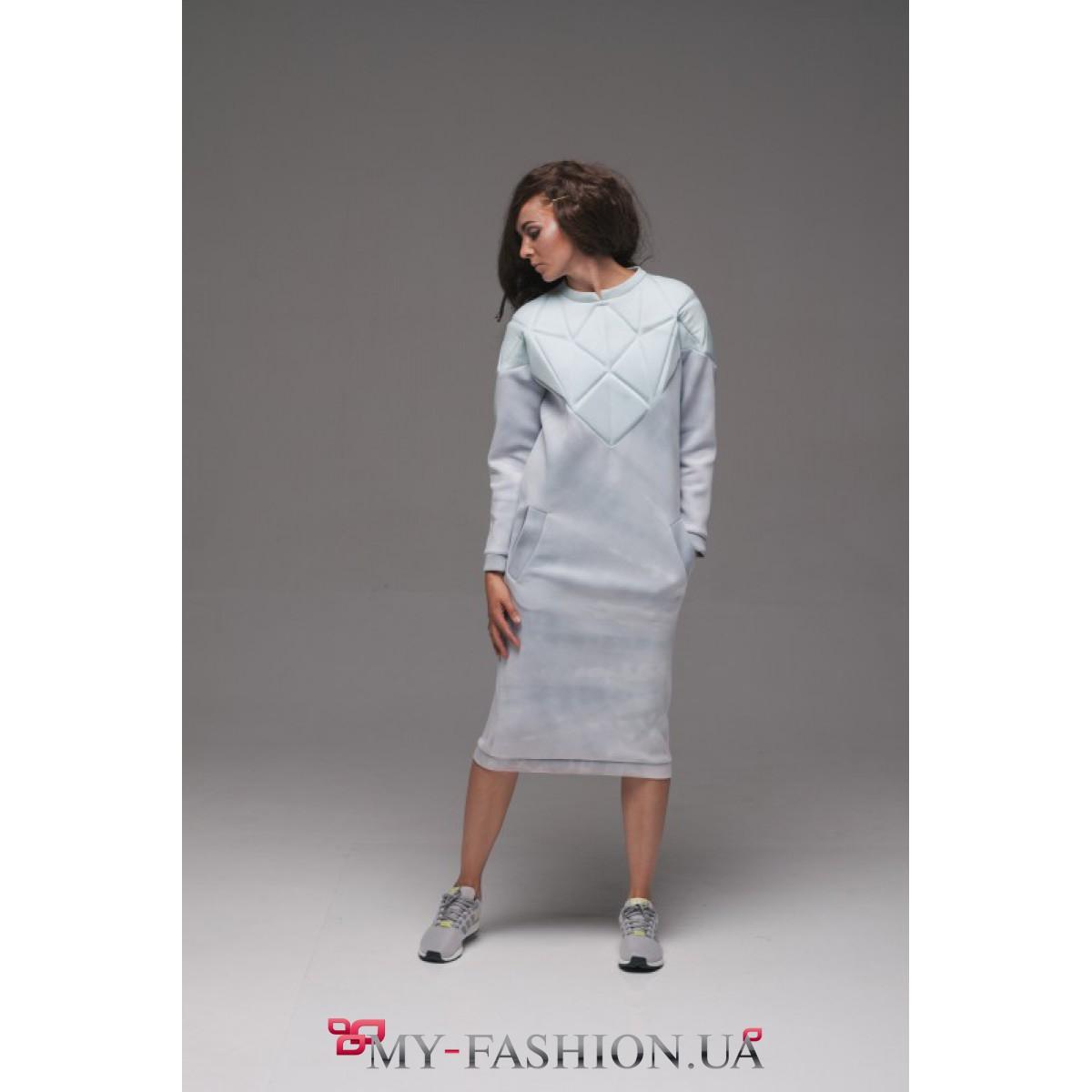 Спортивный стиль платье купить