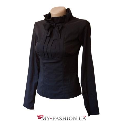 Блуза черного цвета с жао