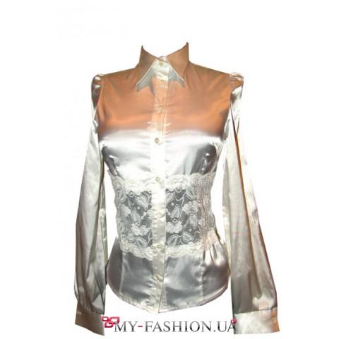 Блузка из гипюра купить