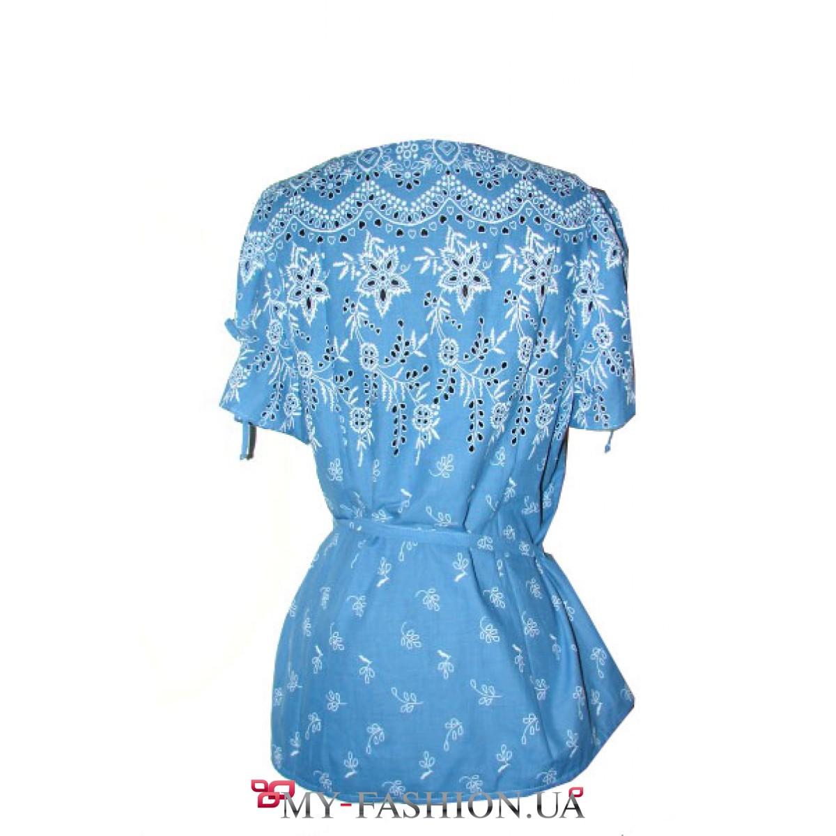 Бирюзовая блузка купить доставка