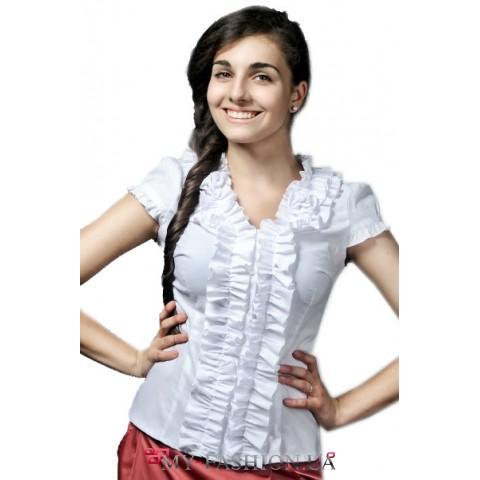 Красивая женская блуза из стретч-котона