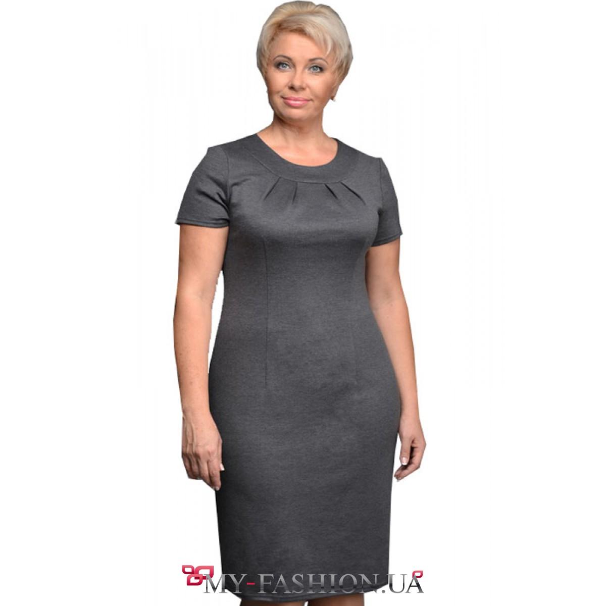 Платья трикотажные 48 размер