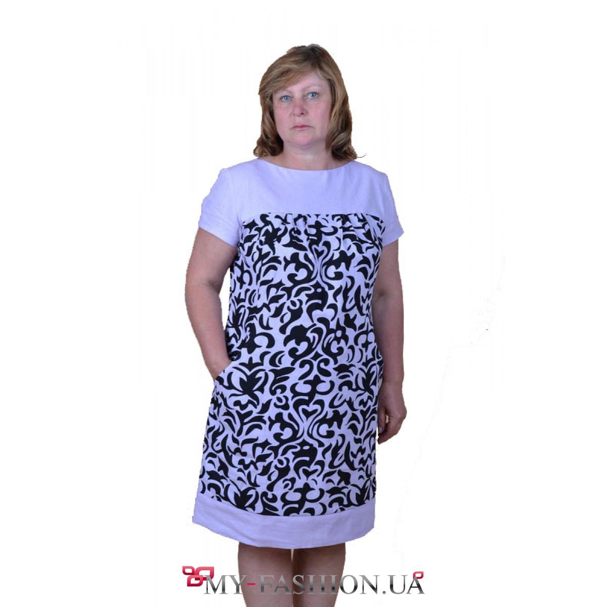 Платья туники большие размеры в украине