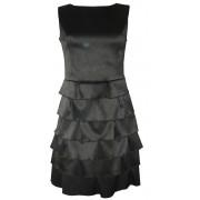 Коктейльное платье из атлас-хлопка