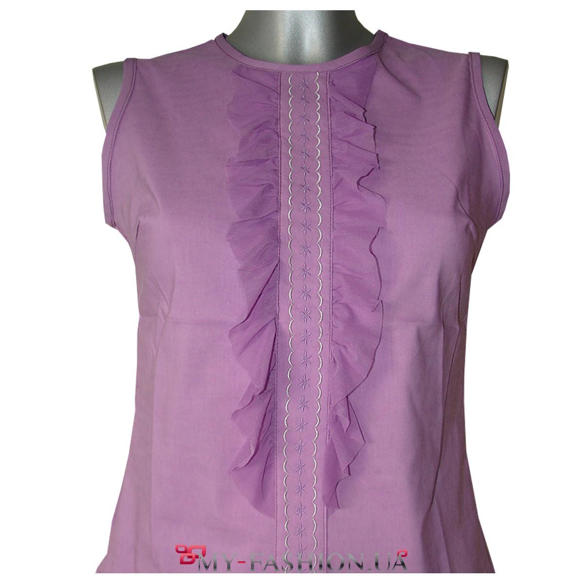 Блузка цвета фуксии