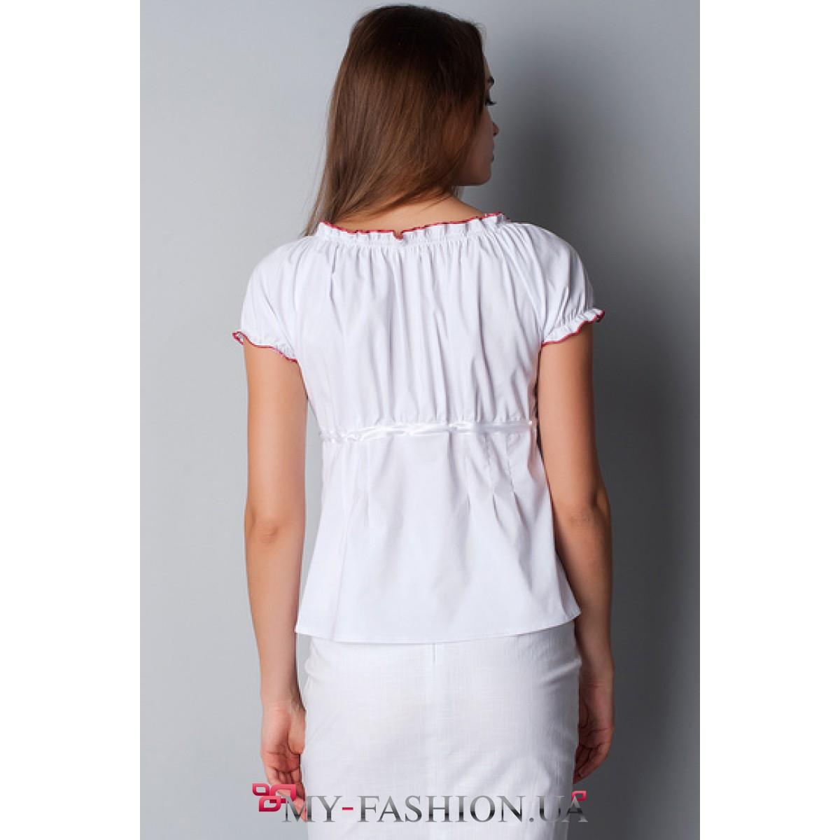 Яркие Блузки Купить